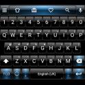 Dusk BlackBlue Emoji Keyboard
