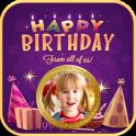Birthday Greetings with Photo