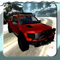 3D Winter Snow Truck Racing