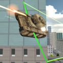 Real Flying Tank Simulator 3D