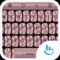 Tastatur-Theme MetalPink