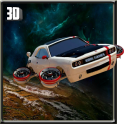 Flying Car Galaxy Game of Car Driving 3D 2018