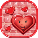 Cute Hearts Keyboard Designs