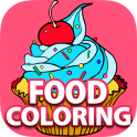 Free Fun Coloring Book - FOOD