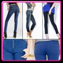 Ladies Fashion Jeans Designs