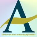 Fashion Coloring Eyebrows
