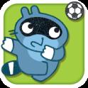 Pango spielt Fußball