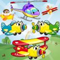 Flugzeug spiele für Kinder