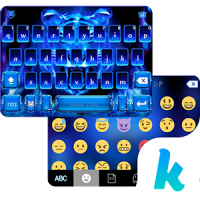 Flaming Tiger Kika Keyboard