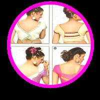 Saree Blouse Neck idea 2018
