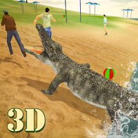 Wild Crocodile Beast Attack 3D
