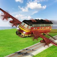 Flying Train Future Race