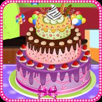 सजावट केक खेल