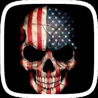 America Skull Theme