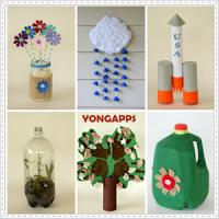 DIY Unique Recycled Crafts