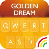 Golden RainbowKeyboard Theme