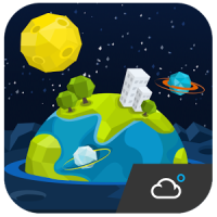 Space Style Cool widget