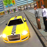 Mad Taxi Driving Simulator 3D