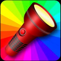 Lampe torche multicolore
