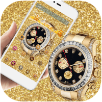 Gold Diamond HD Watch