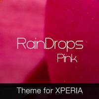 RainDrops Premium Pink Theme