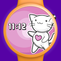 Cute Cat Watch Face