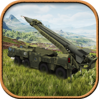 3D Army Missile Launcher Truck