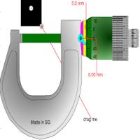 Micrometer Simulator