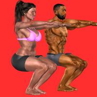 3D Squats Home Workout