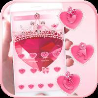 Pink Diamond Launcher Theme
