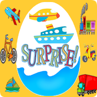 Surprise Eggs Vehicles Game