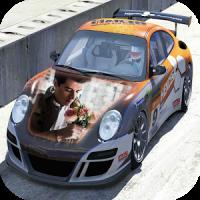 Racing Car Photo Frames