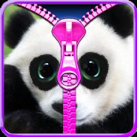 Panda lock screen.