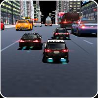 RC Racer policía de la ciudad el tráfico pesado