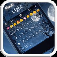 Moonlight Emoji Keyboard Theme