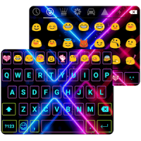 Color Neon Emoji Keyboard