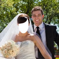 커플 웨딩 사진 편집기