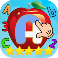 ABC 123 Words English Tracing & Learning