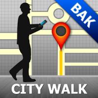 Baku Map and Walks