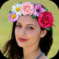 Flower Wedding Crown Hairstyle