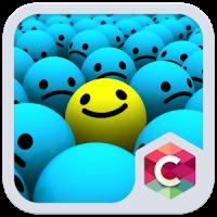 Farbe Lächeln C Launcher Theme