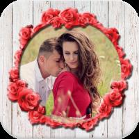 Romantic Couple Love Photo Frame Maker 2018