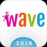Wave Animierten Tastatur