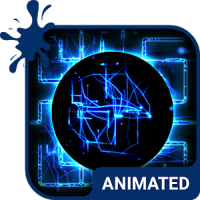 ElectroMaze Animated Keyboard + Live Wallpaper