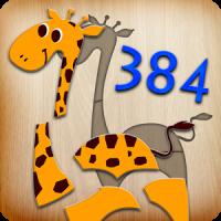 384 Puzzle für Kinder
