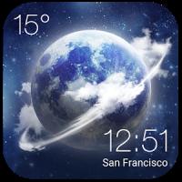 HD Super realism Clock Weather
