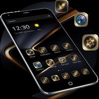 Golden Black Theme for P10