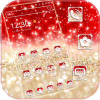 Glimmer Gold Red Theme