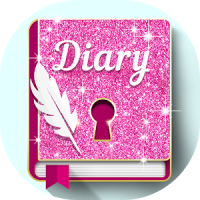 Glitter Lock Diary