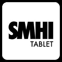 SMHI Väder - tablet